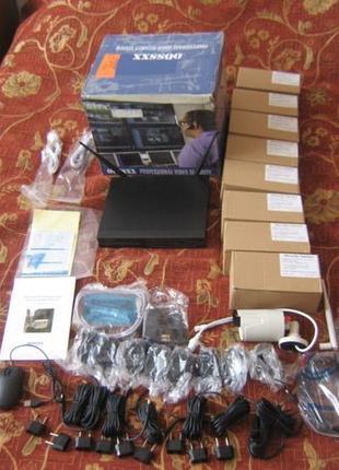 Wi-fi комплект видеонаблюдения OOSSXX на 8 камер 960p 2Tb IP66