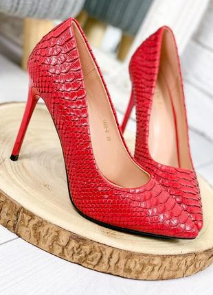 ❤ женские красные туфли  ❤