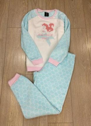 Пижама спальный домашний костюм мягкий размер 10-12