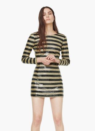 Вечернее,новое,мини- платье,по фигуре,открытая спина,золотое в...