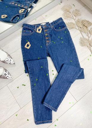 Сині джинси h&m