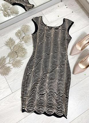 Платье маленького размера в паетки