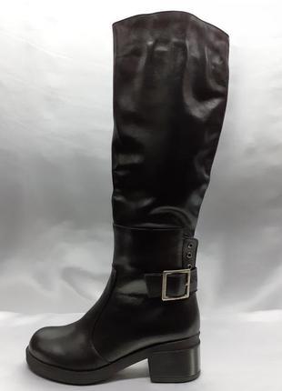 Распродажа!зимние классические кожаные сапоги terra grande
