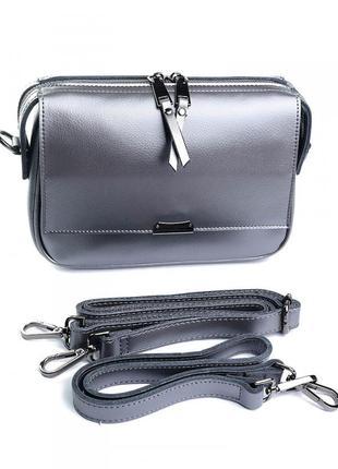 Женская кожаная сумка клатч кожаный женский из натуральной кож...