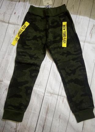 Утепленные штаны 116-146.