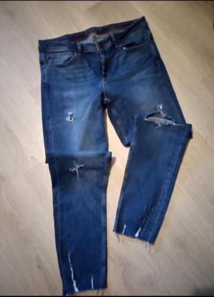 Брендовые джинсы брюки