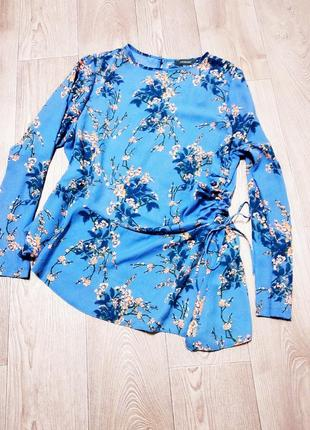 Блуза туника шифоновая кофточка