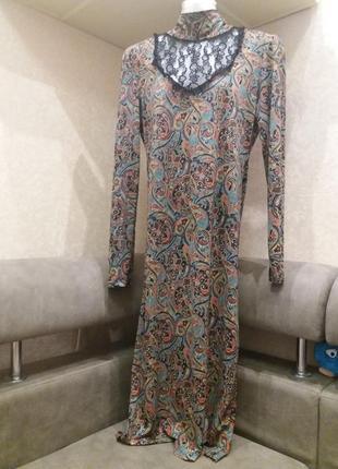 Стильное платье на 46\48р   турция