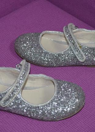 Нарядные туфельки балетки на девочку