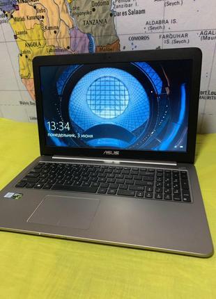 Игровой ноутбук Asus K501U [i7-6500U GTX960M 8 GB RAM 512Gb SSD]