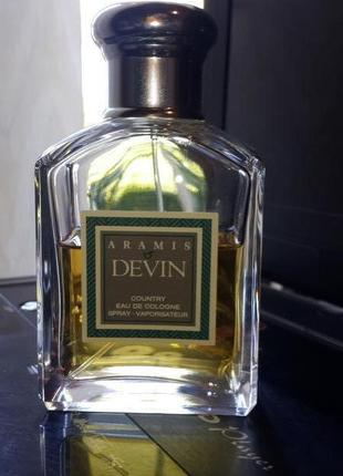 Aramis Devin Country EDC Spray 100ml Mens Perfume