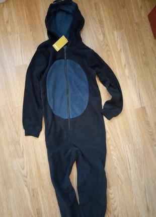 Пижама флисовая кигуруми человечек комбинезон слип pepperts