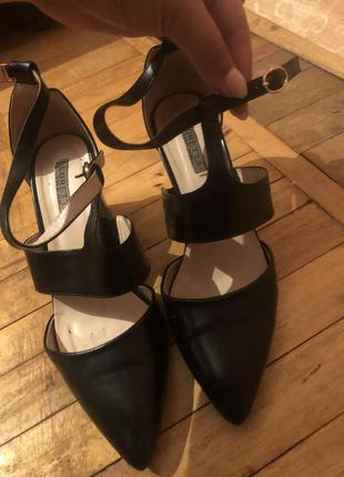 Туфли босоножки лодочки
