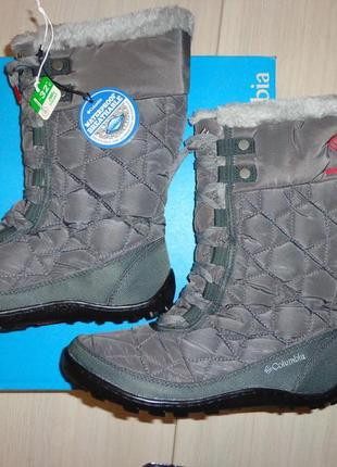 Новые женские зимние сапоги columbia minx mid ii omni-heat дутики