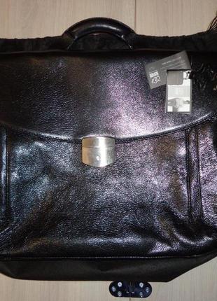 Новый мужской кожаный портфель vif сумка дорожная для ноутбука...
