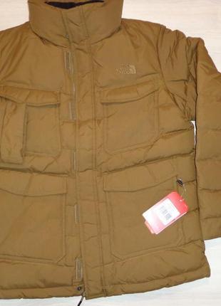 Мужская куртка пуховик the north face tnf новая размер l