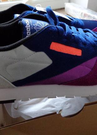 Reebok classic wb leather новые мужские кожаные кроссовки us 11.5