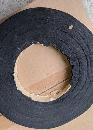 Изолента тканевая, черная 20 мм