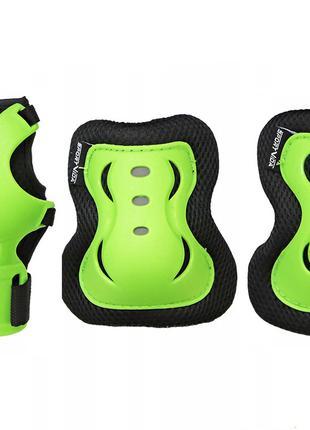 Комплект защитный SportVida SV-KY0001-M Size M Black-Green SKL...