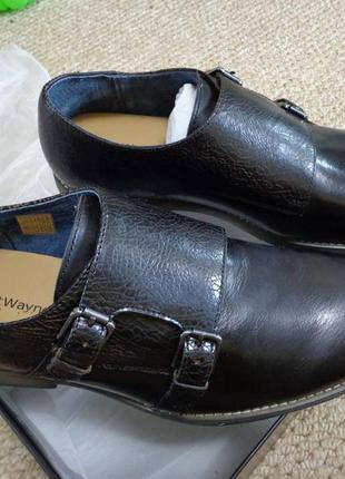 Новые мужские туфли монки robert wayne thane