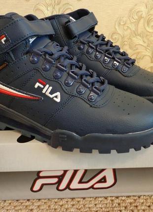 Новые мужские демисезонные ботинки fila f-13 weather tech