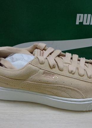 Кроссовки на платформе puma suede platform luna lux кеды