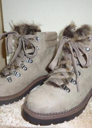 Новые женские ботинки esprit cassia осенние демисезонные