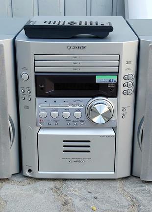 Компактная стереосистема Шарп Sharp XL-HP500 с пультом ДУ 50 Вт