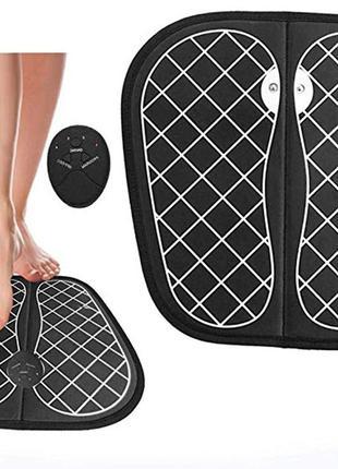 Массажный коврик электрический EMS для ступней