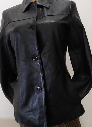Кожаный пиджак, кожанка dpl