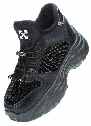 Зимние ботинки зима off white