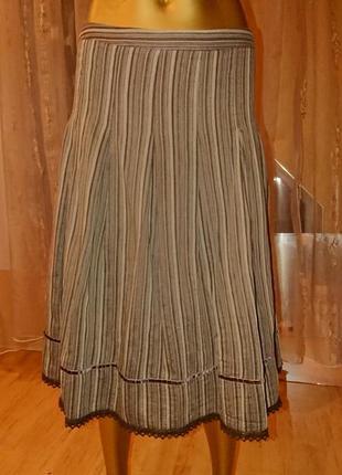 Красивая юбка zara на осень