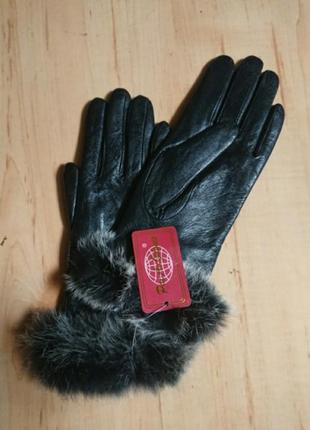 Распродажа кожаных перчаток