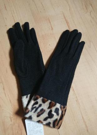 Трендовые шерстяные перчатки