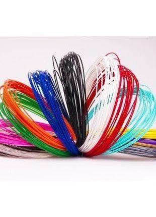 Пластик PLA ПЛА набор 20 цветов по 10м 200м для 3D ручки 3д на...