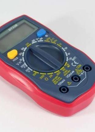 Мультиметр тестер вольтметр амперметр цифровой DT33B