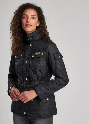 Теплая стильная куртка от barbour оригинал