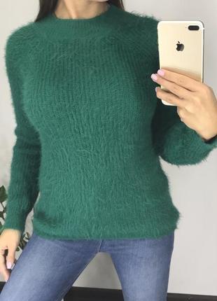 Классный зелёный свитер травка от primark