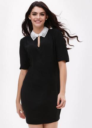Платье с воротничком new look размер 8