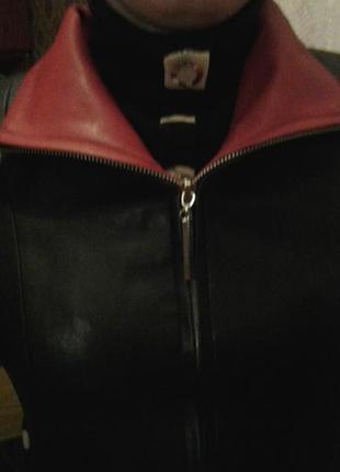 Пальто под кожу.Размер 44-46