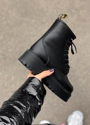 Ботинки dr. martens jadon на платформе
