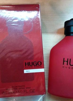 !оригинал!150мл hugo boss hugo red  туалетная вода