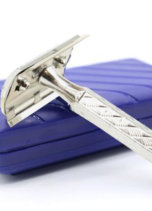 Станок Т образный для бритья под лезвие металлический
