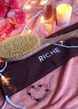 Дренажная щётка Riche для сухого массажа