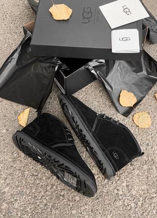 Ugg натуральные мужские зимние ботинки сапоги наимеху