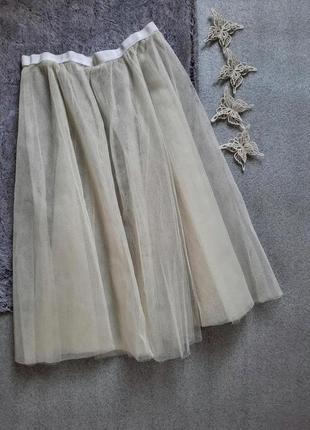 Пачка юбка подъюбник из фатина нижняя юбка