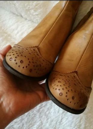 Ботинки из натуральной кожи размер 39 (26 см)