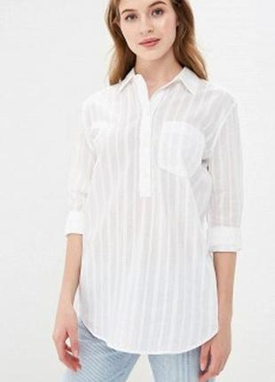 Lanvin италия, блуза/рубашка из 100% льна