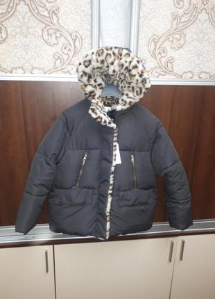 Очень теплая куртка zara 11/12