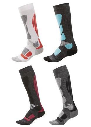 Функциональные зональные лыжные высокие носки гольфы crivit ге...